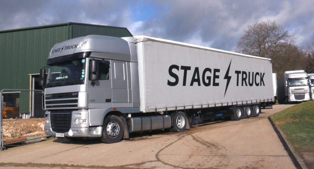 Stagetruck Mega Curtain Side