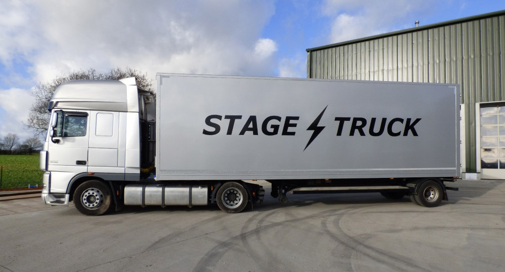 Stagetruck 30ft trailer