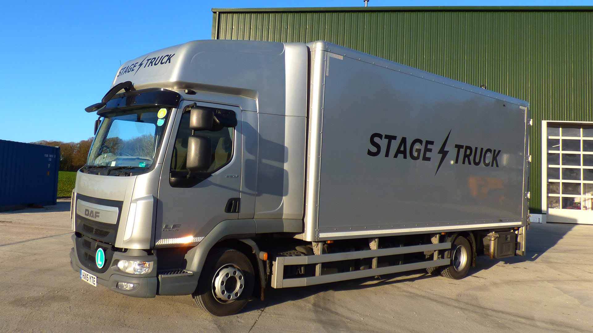 our fleet of trucks and trailers stagetruck